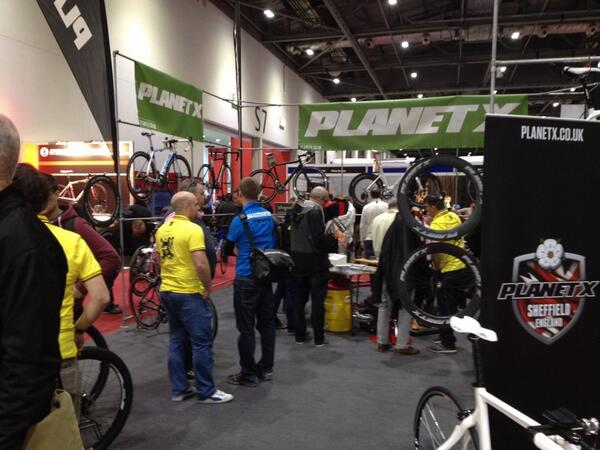 Excel Bike Show London 2014 Planet X stand