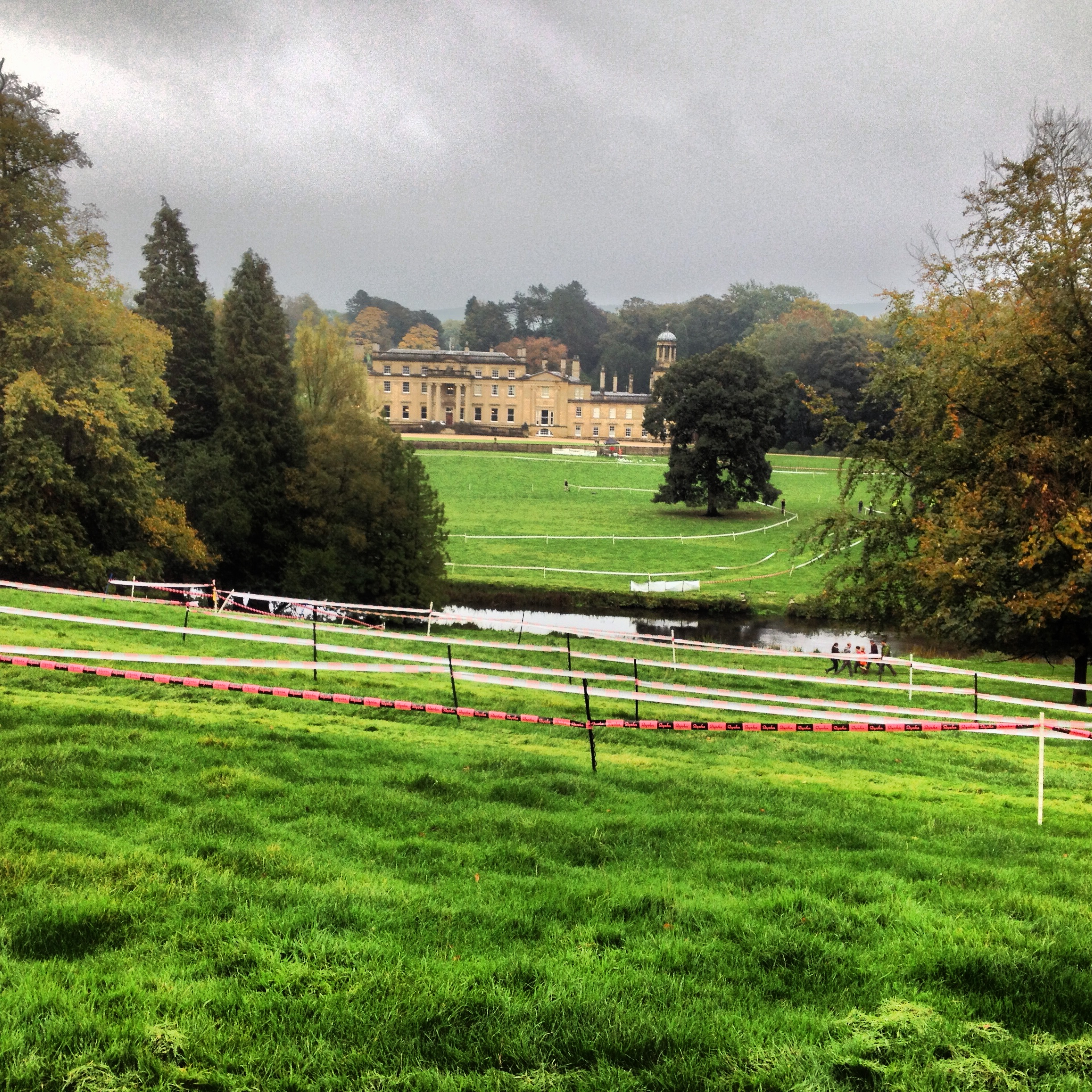 Broughton Hall venue for the 2013 Rapha Super Cross series event