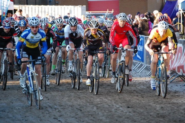 Dan Cook on the Cyclocross Mass Start