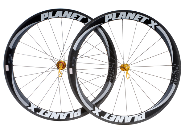 Planet X Carbon 50 Race Wheels