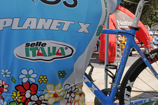New Planet X Guru Team Kit at the Granfondo Bartoli 2011