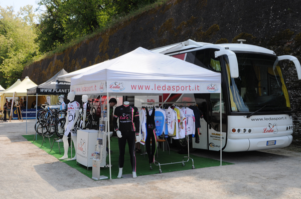 Planet X Stand at the Granfondo Bartoli 2011