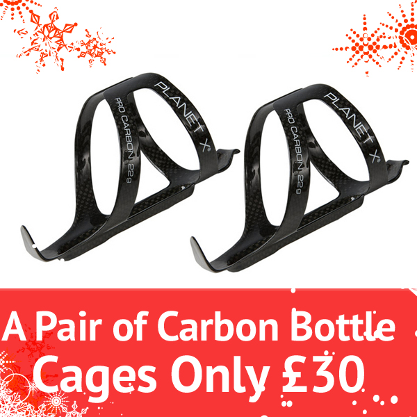 Planet X Christmas Offers 2 Carbon Cages for 30 Quid