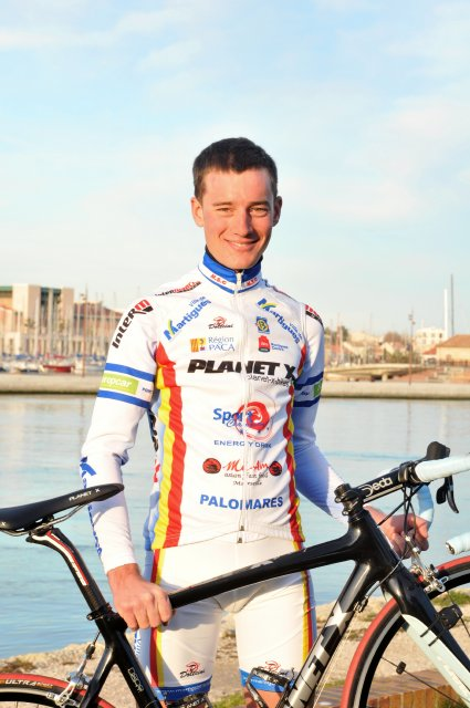 Christophe Goutille of Sports Cycling Martigues - Photo credit: www.droz-photo.com