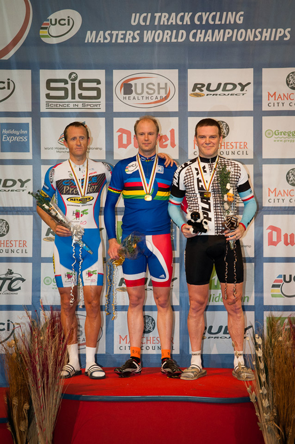 Richard Prince takes Bronze at Track Masters Worlds