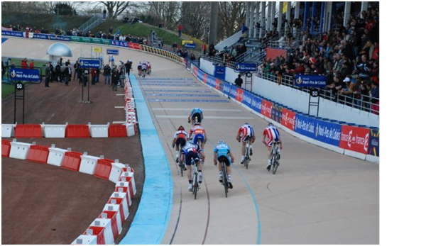sam harrison showdown in the velodrome paris roubaix 2010