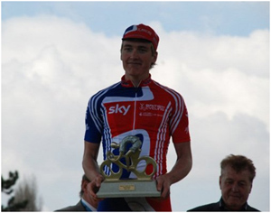 sam harrison best rider on the cobbles paris roubaix 2010