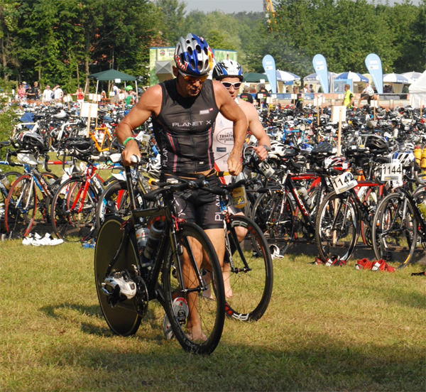Thomas Hellriegel at the Rothsee Triathlon