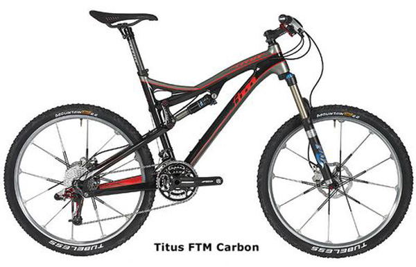 On-One Buy Titus Bikes