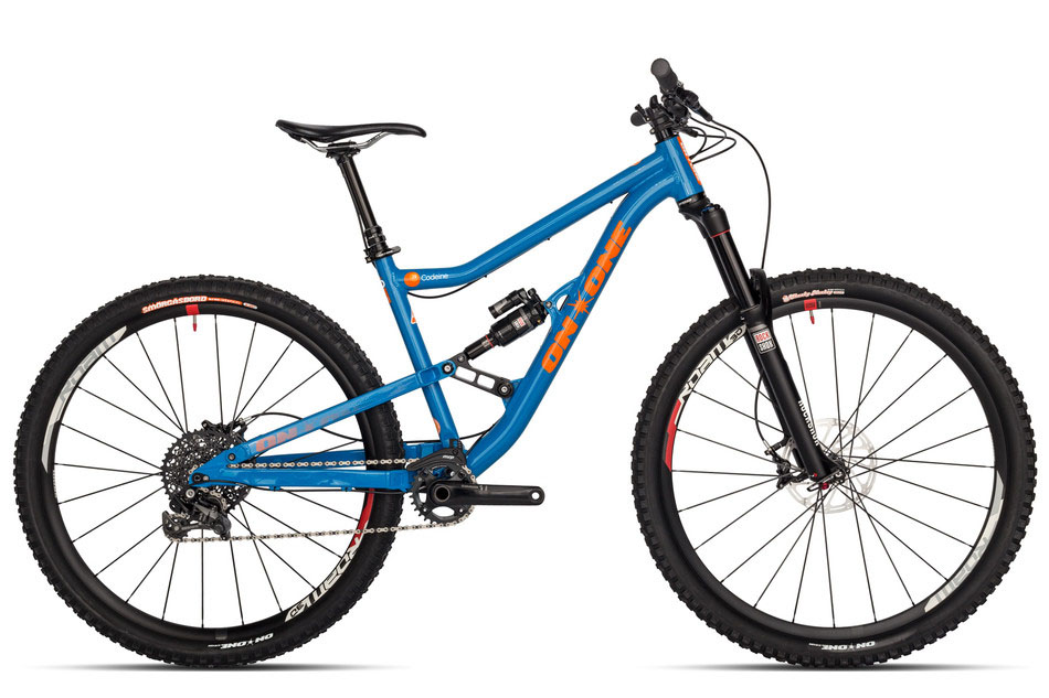 Codeine 29er Full Suspension Mountain Bime