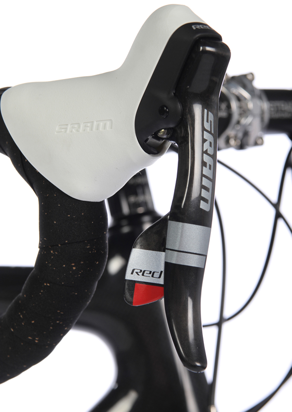 SRAM Red levers double tap shifters