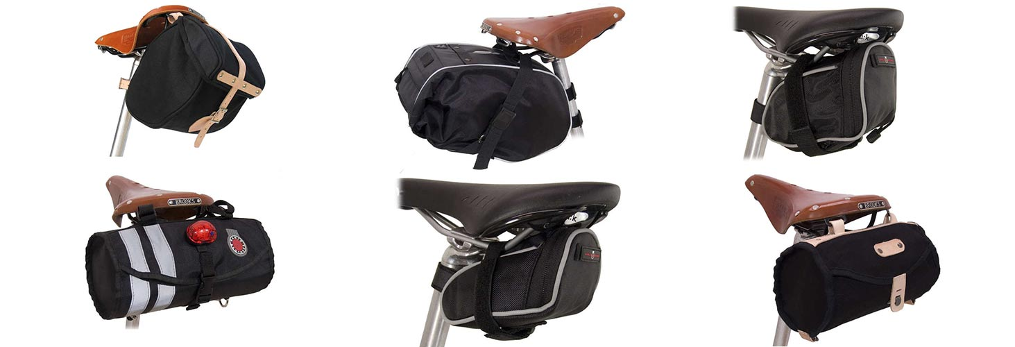Banjo Brothers Barrel and Seat bags