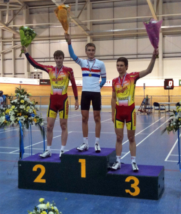 Sam Harrison Track Nationals Junior Tour of Wales