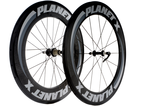 Planet X 82/101 Carbon Wheels for Time Trial and Triahlon
