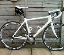 White Lightening bike photo