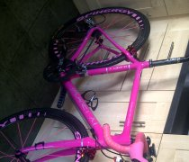 THINK PINK !! bike photo