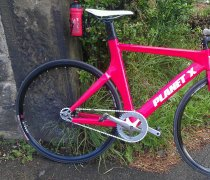 The Red Rocket Carbon Fixed Gear bike photo
