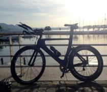 My TT Bike Baby - Picture Taken At Zurch Lake, Switzerl bike photo