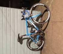 The Blue Machine  bike photo