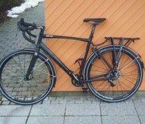Planet X London Road SRAM Rival 1 Hydraulic Disc Road B bike photo