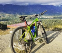 Green Machine bike photo