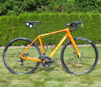 The Orange bike photo