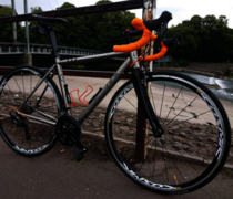 Titanium Titan bike photo