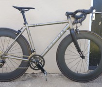 Planet-X Spitfire - Titanium Road Bike & Selcoff Fork bike photo