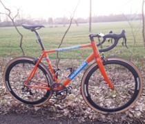 Orange Dream Machine bike photo