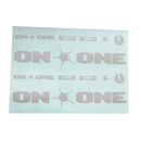 On-One Decal Sheet For Whippet Frames