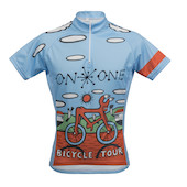 On One Mombassa Bicycle Tour Short Sleeve Jersey