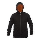 On-One Heavyweight Angora Wool Micro Fleece Bonded Hooded Jacket