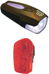 Smart 7 Lux Front With 7 LED Rear Light Set