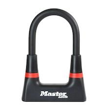 Master Lock 14mm Premium Security Gold Secure Mini D-Lock