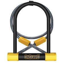 OnGuard Bulldog DT 8012 U-Lock With Cable
