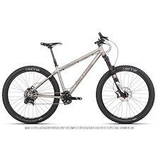 On One Ti 45650B Sram X01 Mountain Bike