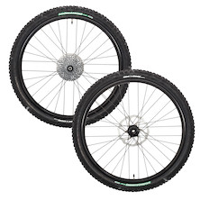 On-One 26 Inch X9 Wheels With Rotors, Cassette And Tyres
