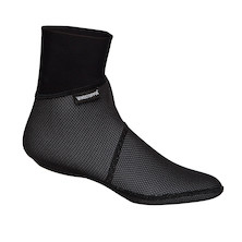 Biemme Windstopper Black Sock