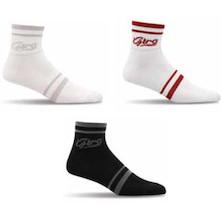 Giro Standard Racer (3 inch cuff) Script Sock