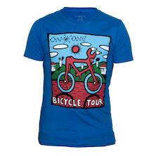 On-One Bicycle Tour Urban Brush T-Shirt 175g