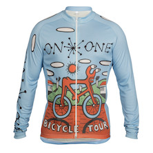 On One Mombassa Bicycle Tour Long Sleeve Jersey