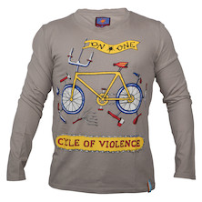 On-One Mombassa Cycle Of Violence Long Sleeved T Shirt