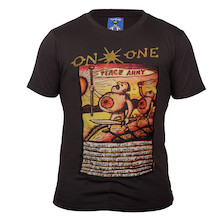 On-One Mombassa Peace Army Short Sleeved T Shirt