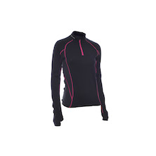 On-One Merino Womens Perform Long Sleeve Cycling Jersey 200g