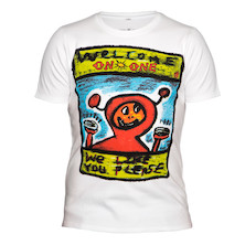 On-One Welcome We Like You Interlock T-Shirt 240g