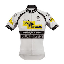 Planet X Team Cystic Fibrosis Short Sleeve Jersey