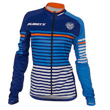 Planet X Midnight Stripe Women's Long Sleeve Autumn-Spring Jersey