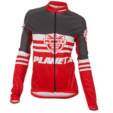 Planet X Shield Women's Long Sleeve Autumn-Spring Jersey