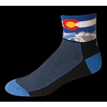 Save Our Soles Colorado Black Coolmax Socks