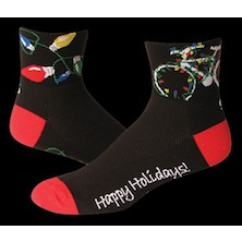 Save Our Soles Happy Holiday Coolmax Socks